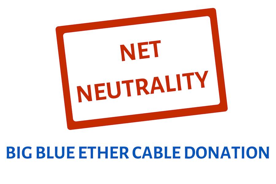Net Neutrality - Big Blue Ether