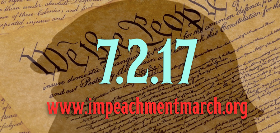 Indivisible Houston Impeachment March