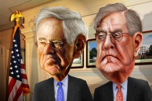 Koch brothers cartoon images