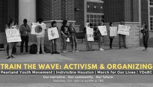 Train The Wave Activism And Organizing