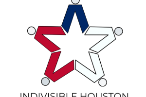 Indivisible Houston logo