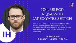 Facebook Live event with Jared Yates Sexton and Indivisible Houston