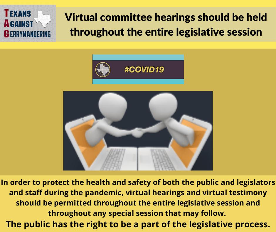 Virtual Hearings Through Entire Process